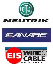 Neutrik, Canare, and EIS Cables
