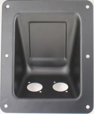 RDPX2-65B Unloaded Recessed Dish Plate